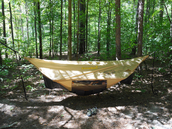 the chrysalis with the top sorta stowed  hammock tents   super linky   got one  tell us about it and post      rh   advrider